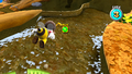 Bee Mario in Gold Leaf Galaxy SMG.png