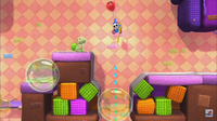 Big Montgomery's Bubble Fort in Yoshi's Woolly World