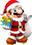 Mario (Santa) from Mario Kart Tour