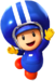 Artwork of Toad (Pit Crew) from Mario Kart Tour