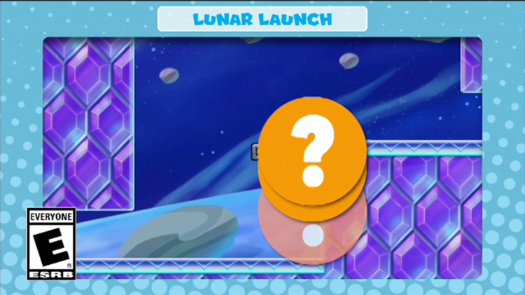 A frame of the video shown with the eighth question in Mini Mario & Friends: amiibo Challenge Trivia Quiz