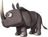 Artwork of Rambi the Rhino from Donkey Kong Barrel Blast
