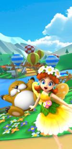 The Flower Tour from Mario Kart Tour