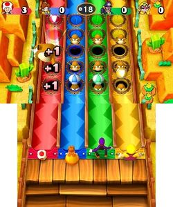 Rolls for Moles from Mario Party: Star Rush