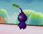A Purple Pikmin in Super Smash Bros. Brawl