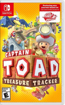 Captain Toad: Treasure Tracker Nintendo Switch boxart