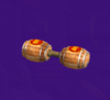 The DK Tires from Mario Party 5s Super Duel Mode.