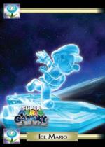 Ice Mario trading card