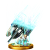 Fox's Final Smash trophy, from Super Smash Bros. for Wii U.