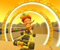 The icon of the Lemmy Cup challenge from the Jungle Tour in Mario Kart Tour.