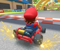 The icon of the Mario Cup's challenge from the New York Tour in Mario Kart Tour.