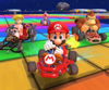 The icon of the Peachette Cup challenge from the New Year's 2021 Tour in Mario Kart Tour.