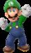 Artwork of Luigi from Super Mario Party