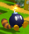 A Tail Bob-omb in Super Mario 3D Land