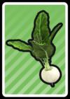 A Turnip Card in Paper Mario: Color Splash.