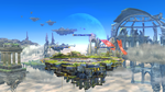 Screenshot of a stage from Super Smash Bros. for Nintendo 3DS / Wii U