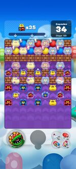 Stage 169 from Dr. Mario World since March 18, 2021