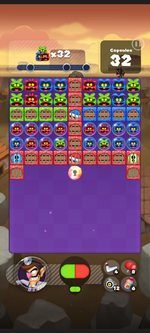 Stage 206 from Dr. Mario World