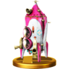 Hocotate Bomb trophy from Super Smash Bros. for Wii U