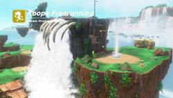 One of the races in Super Mario Odyssey.