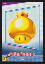 Golden Mushroom Trading Card
