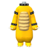 """The """"Bowser Suit"""" Mii costume"""
