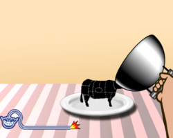 Catch of the Day in WarioWare: Smooth Moves.