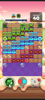 Stage 466 from Dr. Mario World