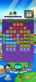 Stage 601 from Dr. Mario World