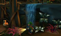 The Jungle Exhibit in Treacherous Mansion