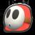 Shy Guy's icon from Mario Kart Tour.