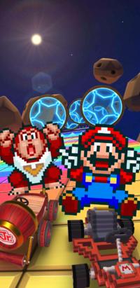 The Super Mario Kart Tour from Mario Kart Tour.