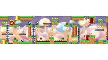 Miiverse screenshot of the 93rd official level in the online community of Mario vs. Donkey Kong: Tipping Stars