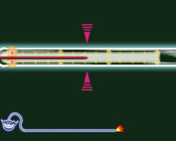 Mercury Falling in WarioWare: Smooth Moves.