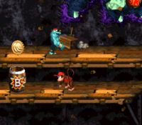 The locations for the first and second Bonus Barrels each.