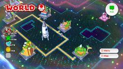 World Mushroom of Super Mario 3D World