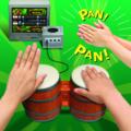 Donkey Konga gameplay demonstration photo.png