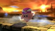 Kirby with Princess Zelda's ability