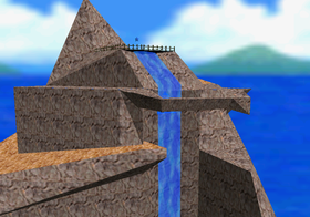 Tall, Tall Mountain in the game Super Mario 64.