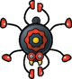 An Arantula, as it appears in Paper Mario: The Thousand-Year Door.