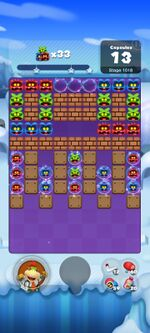 Stage 1018 from Dr. Mario World