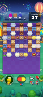 Stage 666 from Dr. Mario World