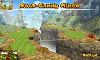Hole 18 of Rock-Candy Mines (golf course) in Mario Golf: World Tour