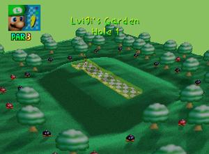 Luigi's Garden hole 1
