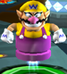 Wario using the Bullet Candy
