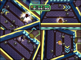 Circuit Maximus at night from Mario Party 6