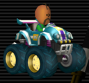 Tiny Titan from Mario Kart Wii