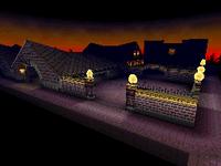 Screenshot of Twilight House in Mario Kart DS