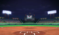 Country Field (Night) from Mario Sports Superstars