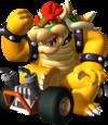 Bowser artwork from Mario Kart DS
